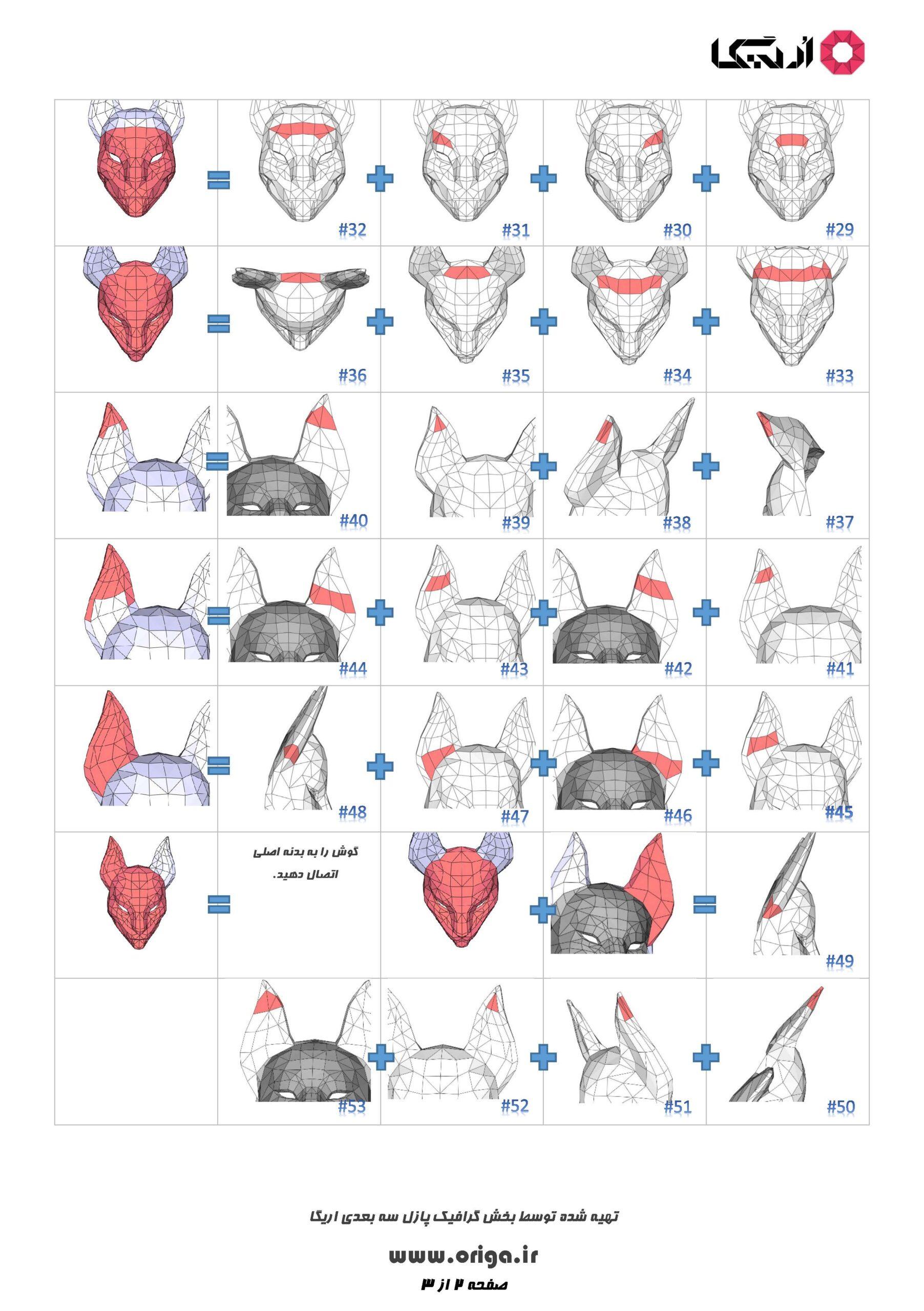 راهنمای ساخت ماسک کیتسون