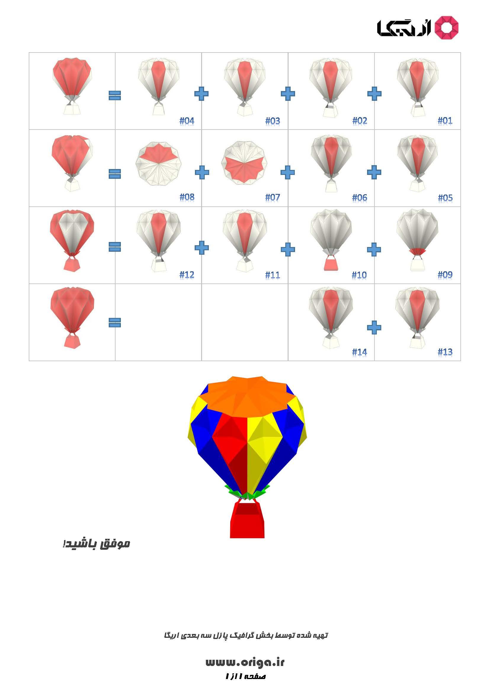 راهنمای ساخت بالون